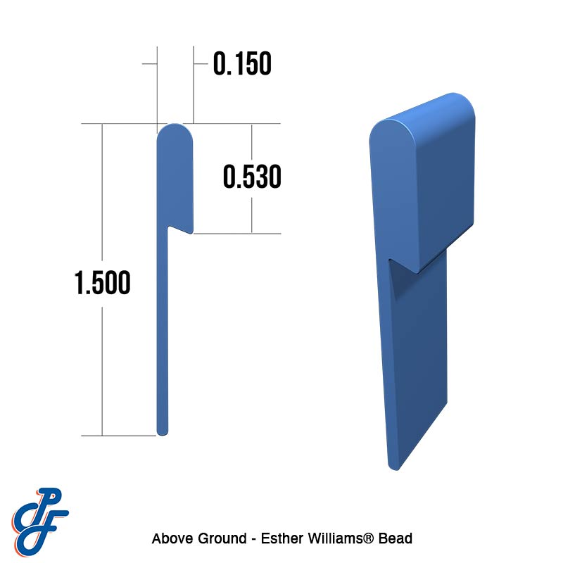 Esther Williams Bead - Above Ground