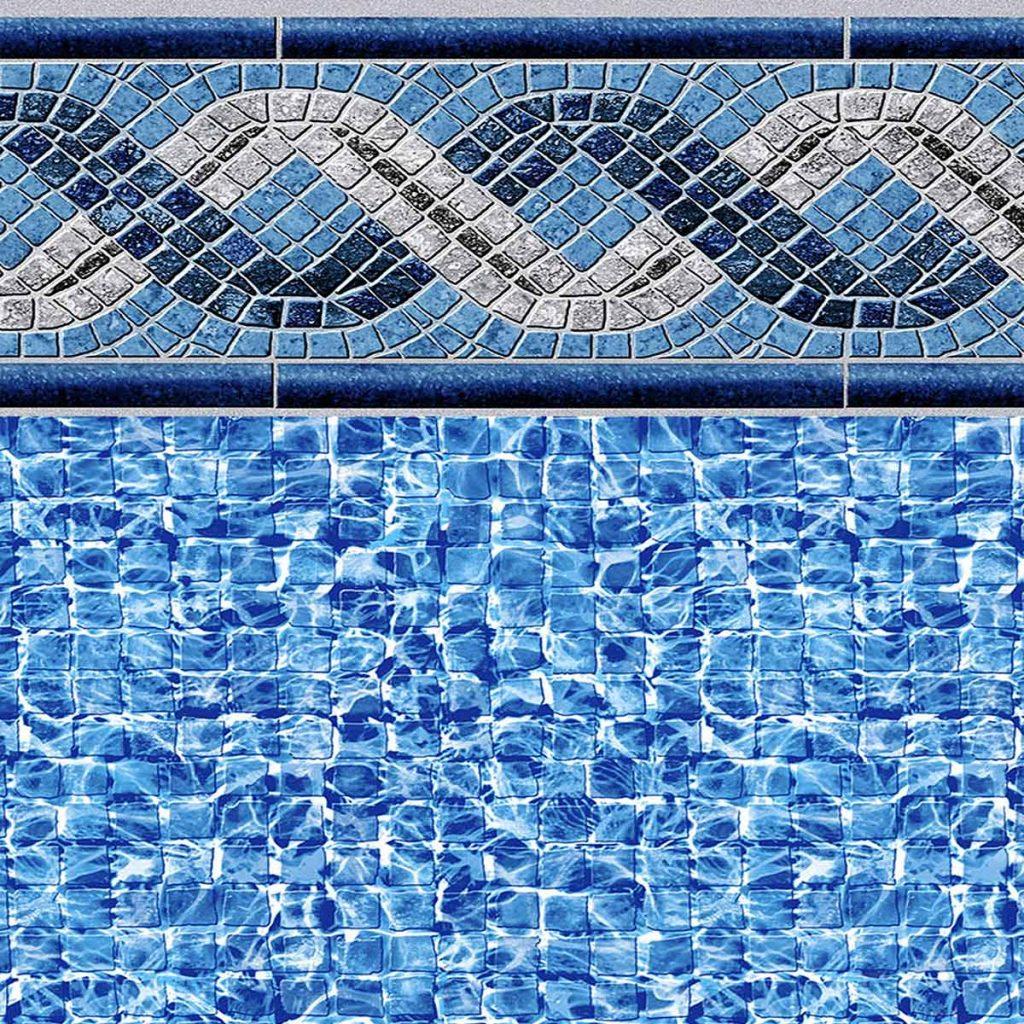 Pool Fits Greystone vinyl pattern