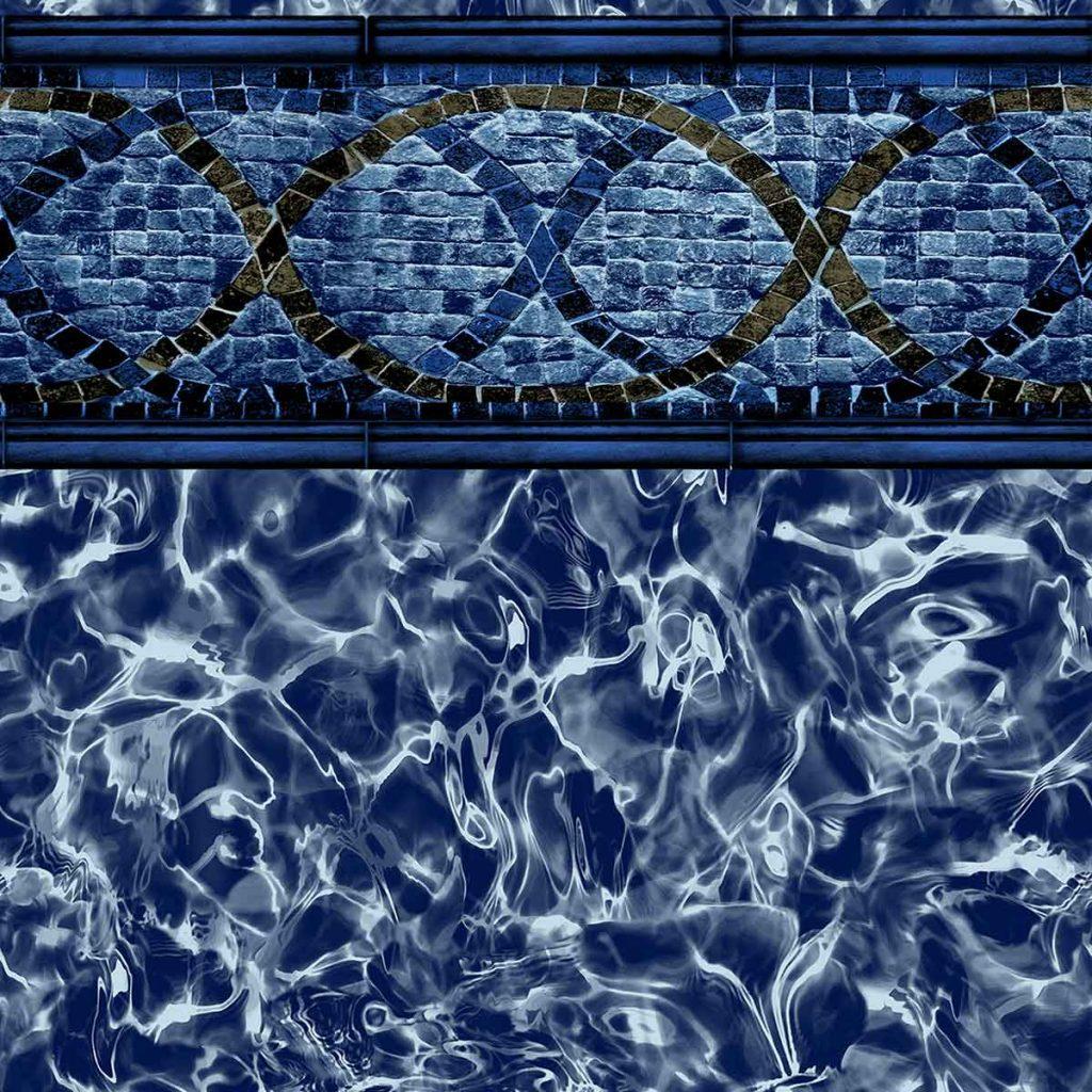 Pool Fits Above Ground Vinyl Pattern Seabreeze