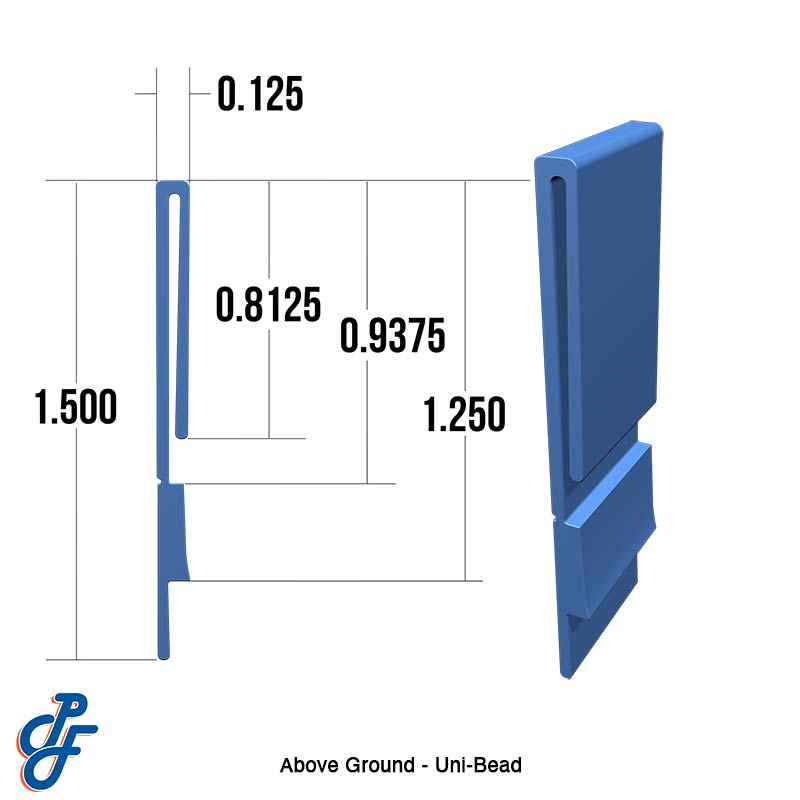 Above Ground Uni-Bead