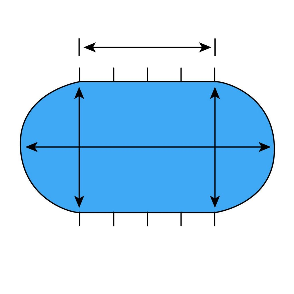 How to Measure On Ground Oval Pool