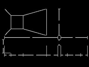 Rectangle Standard Bottom