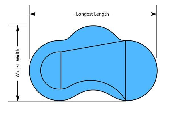 Humpback Kidney Pool Shape