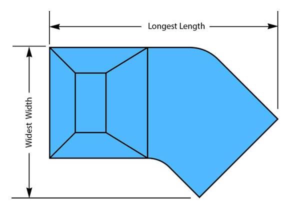 Lazy-L Pool Shape