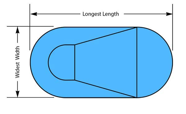Oval Pool Shape