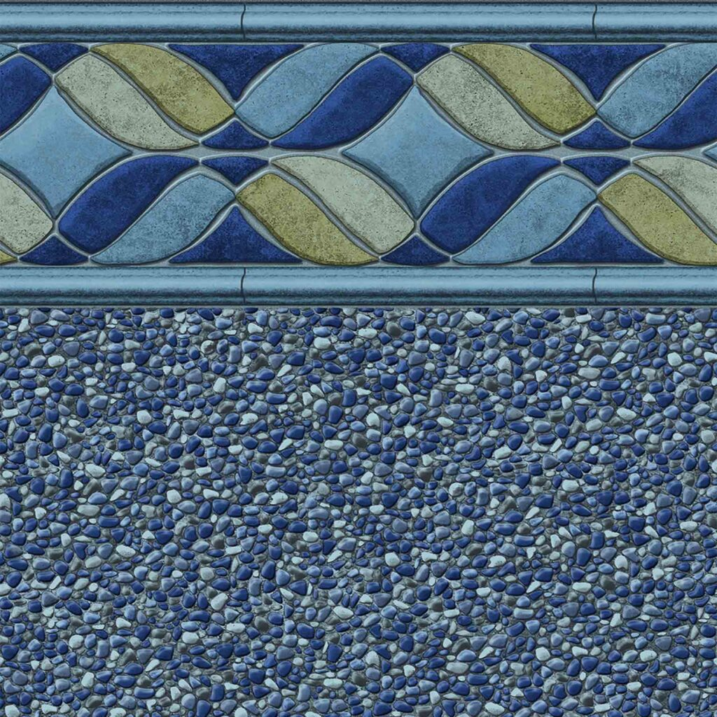 Pool Fits Avalon Seabrook Pool Liner Pattern Image - Close Out