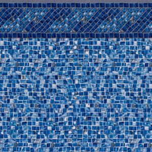 Pool Fits Amelia Tile Oyster Bay Silver Floor Inground Pool Liner Pattern