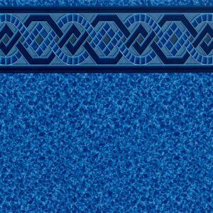 Pool Fits Captiva Blue Tile Blue Roman Floor Inground Pool Liner Pattern