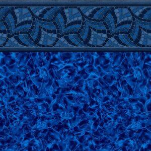 Pool Fits Carolina Arctic Tile Indigo Arctic Floor Inground Pool Liner Pattern