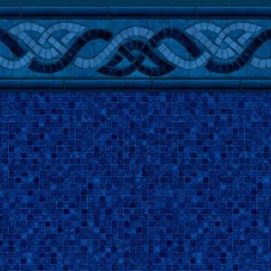 Pool Fits Colorado Mosaic Tile Indigo Mosaic Floor Inground Pool Liner Pattern