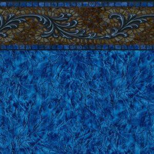 Pool Fits Fredrick Tile Krinkle Floor Inground Pool Liner Pattern