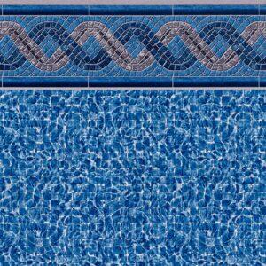 Pool Fits Greystone Tile River Floor Inground Pool Liner Pattern
