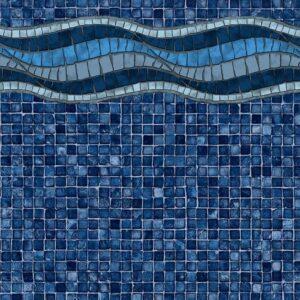 Pool Fits Inglewood Mosaic Tile Nielsen Floor Inground Pool Liner Pattern