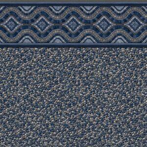 Pool Fits Renegade Grey Tile Grey Seabrook Floor Inground Pool Liner Pattern