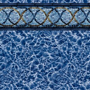 Pool Fits Sea Breeze Tile Diffusion Floor Inground Pool Liner Pattern