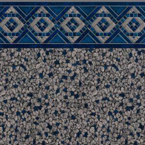 Pool Fits Grey Slate Mosaic Tile Slate Mosaic Floor Inground Pool Liner Pattern
