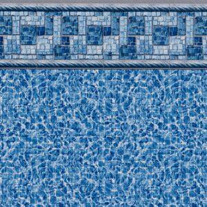 Pool Fits Summer River Tile River Floor Inground Pool Liner Pattern