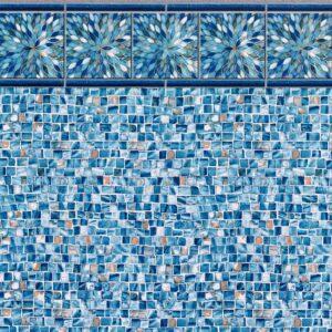 Pool Fits Sunburst Tile Oyster Bay Floor Inground Pool Liner Pattern