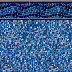 Pool Fits Waterfall Tile Oyster Bay Silver Floor Inground Pool Liner Pattern